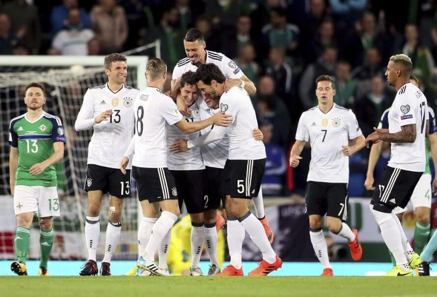 Niemcy przed szansą na perfekcyjne eliminacje: wystarczy tylko pokonać Azerbejdżan. Sprawdzamy kursy bukmacherów