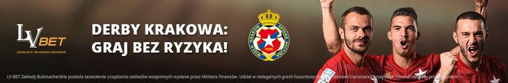 zakład bez ryzyka na derby Krakowa