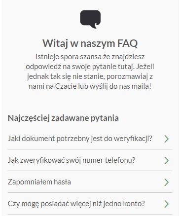 FAQ na PZBuk - dobre opinie o obsłudze klienta