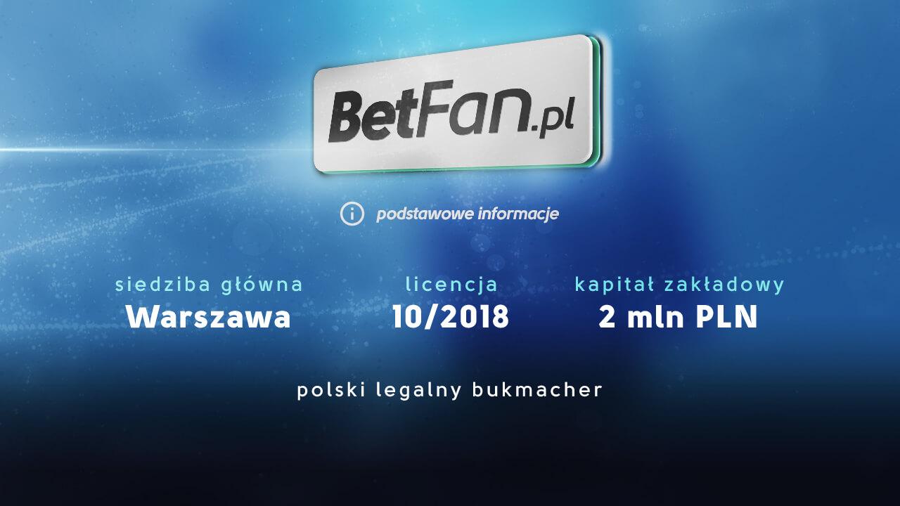 BetFan - podstawowe informacje