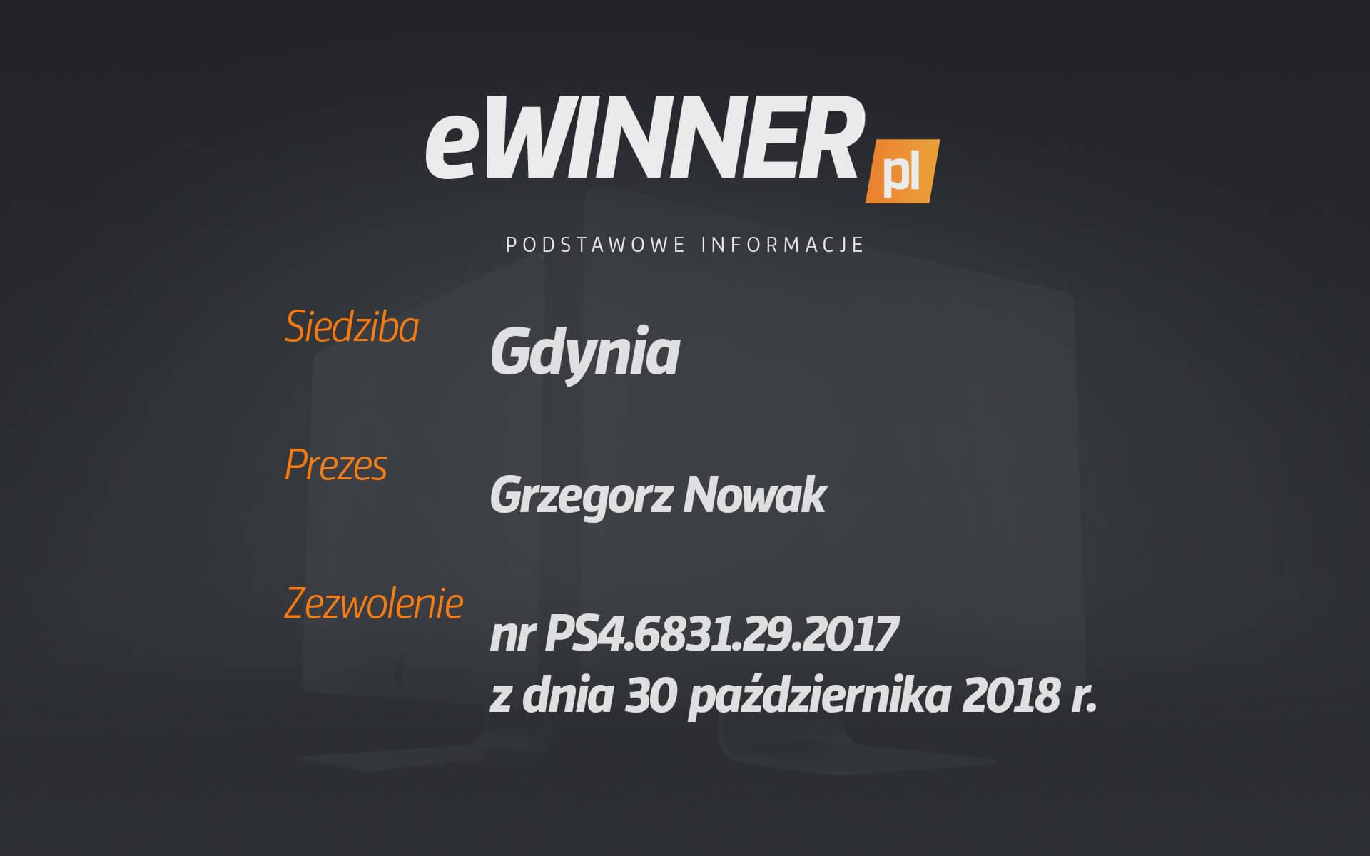 Informacje o eWinner