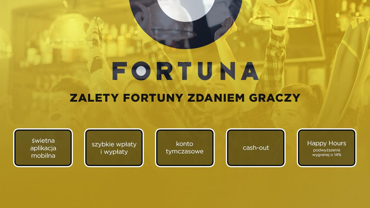 Fortuna opinie - zalety