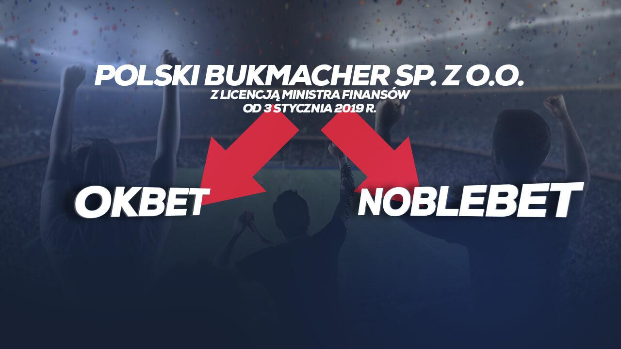 Marka OKBet z licencji Polskiego Bukmachera